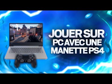 TUTO : JOUER SUR PC AVEC UNE MANETTE PS4 !