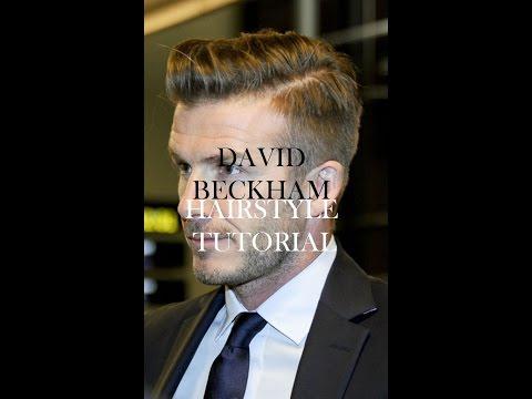 HAIR: David Beckham Hairstyle | Hairstyle Tutorial | Mens Hairstyle