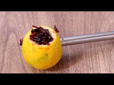 How to make lemon Hookah at home