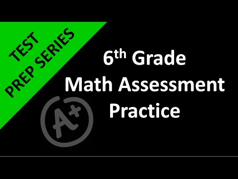 6th Grade Math Assessment Practice Day 1