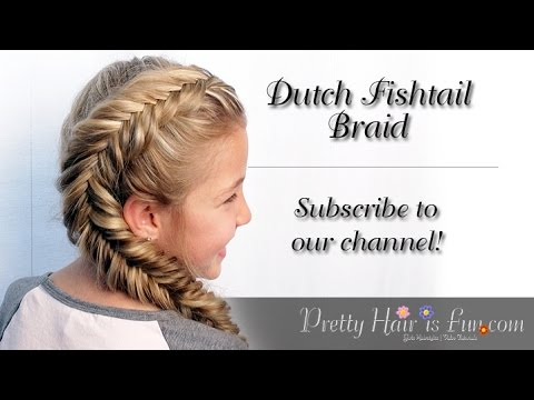 SIDE DUTCH FISHTAIL BRAID!! 😍