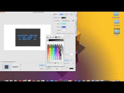 Art Text 2 Create your own logo on mac