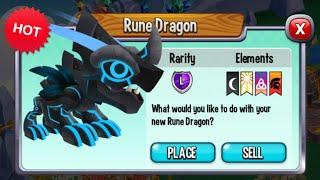 Dragon City - Rune Dragon [Exclusive VIP Dragon | Only 20$]