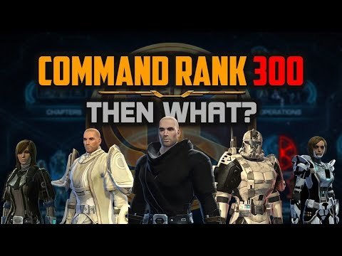 SWTOR Best Way to Get Command Rank 300 and What To Do After That