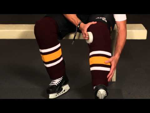 How To Tape Your Shin Pads And Hockey Socks - Howies Hockey Tape