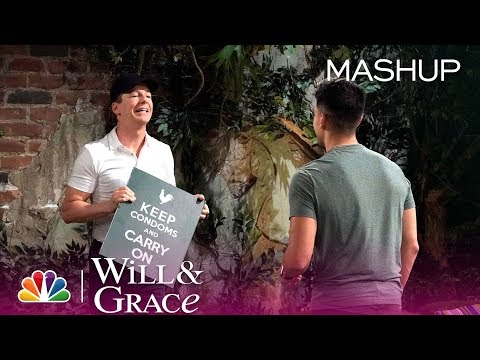 Will & Grace - Time for a Laugh Break (Mashup)