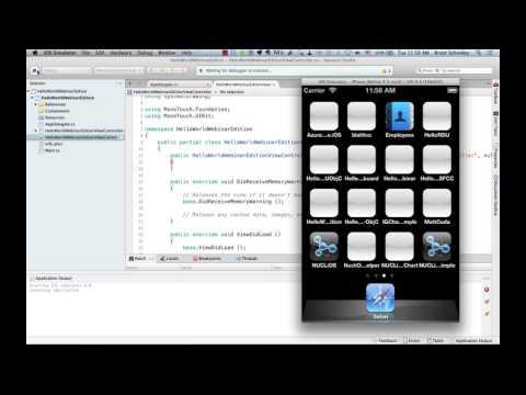 Creating iOS Apps with C# Using Xamarin.iOS