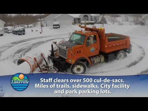 Snowplow Maintenance SnapShot - February 2018