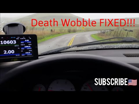 How I solved DEATH WOBBLE on My Dodge Ram 2500