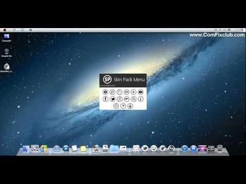Mac OS X Mountain Lion Themes for Windows 7