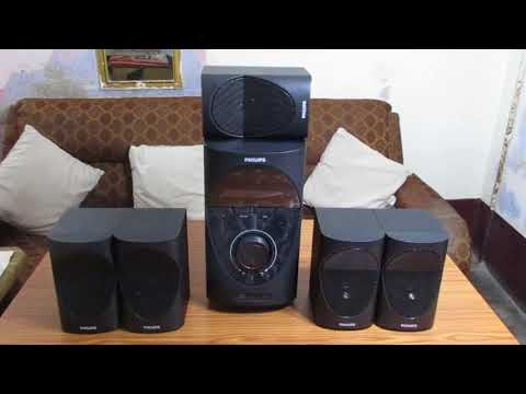 Unboxing Philips SPA7000B 5.1 Home Theater System