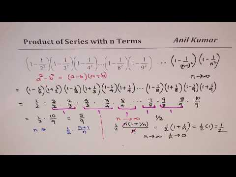 Product of Series with n terms of Fractions SSC Bank Exam