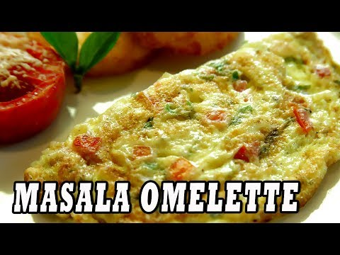 Masala Omelette Indian Street Food Recipe Best Egg Recipe Hindi Cooking Videos