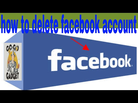 facebook-- How To Delete Your Facebook Account Permanently