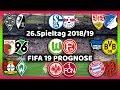 26Spieltag Alle Highlights Und Tore Bundesliga Prognose I FIFA 19 I 201819 Deutsch HD
