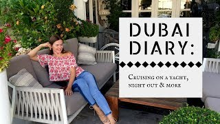 DAYS OFF IN DUBAI - YACHT PARTY, TRYING CRYO THERAPY AND MORE | Emirates Cabin Crew