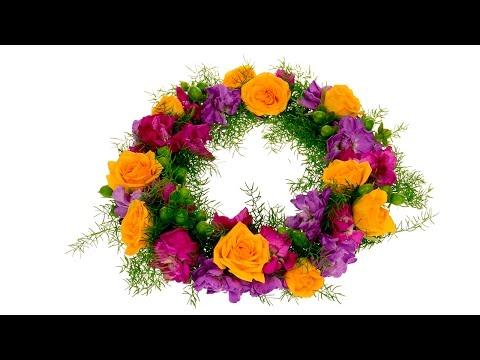 Easiest Floral Crown Ever