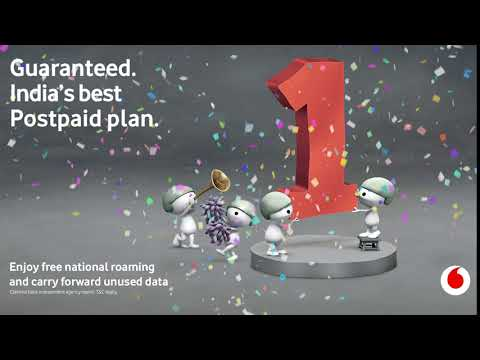 Guaranteed. India's Best Postpaid Plan.