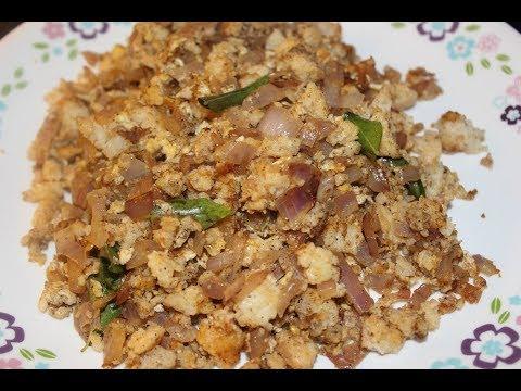 Kothu Idli / Minced Idli / Shredded Idli with spices