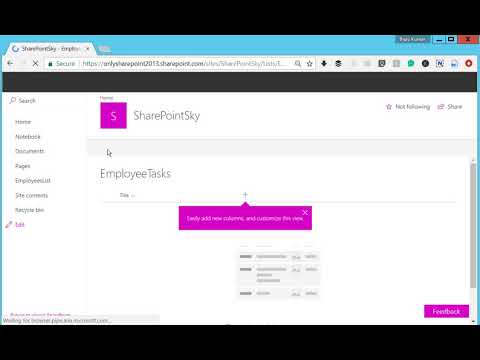 SharePoint online: Add and change new button order and default content type