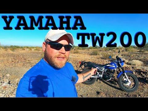 I Got A Yamaha TW200 Dual Sport Motorcycle!!!