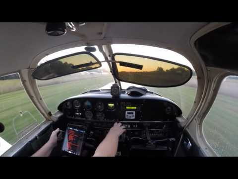 First Solo in Becoming a Private Pilot