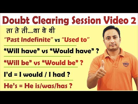 Spoken English Doubt Clearing Session - 2 | English Questions and Answers | Basic English Grammar