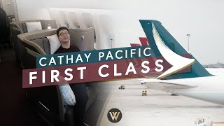 "Cathay Pacific ""New"" First Class - Vancouver to New York"