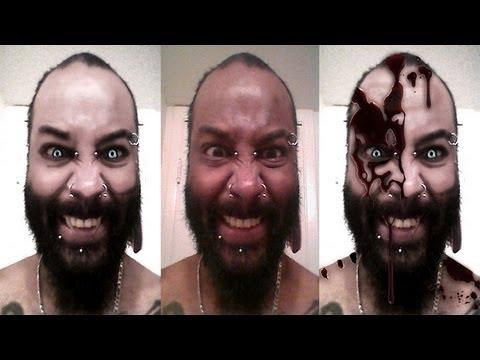 Chuy D's Gothic Vampire Transformation: (Photoshop CS6)