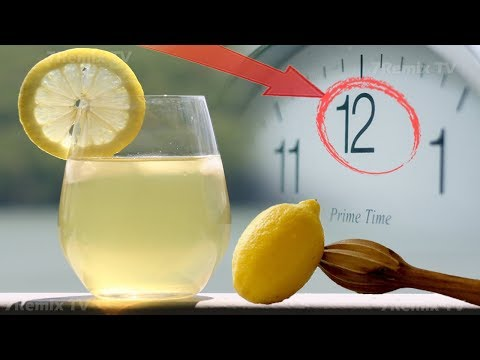 What Is The Best Time To Drink Lemon Water? You Will Be Surprised If Knowing This Too Late!