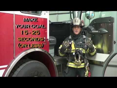 Firefighter SCBA donning - How to improve your