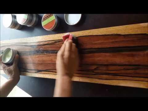 wood wax for natural and furniture polish