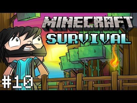 Minecraft: Survival - Part 10 - First Sadness, Then Naruko!
