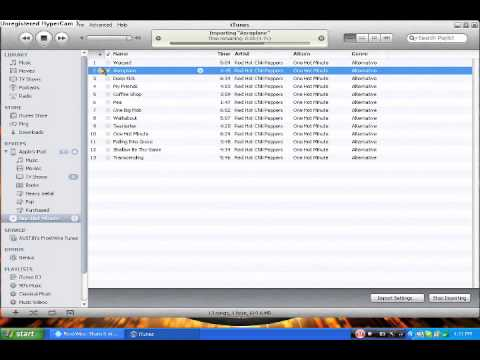 how to put free music on your ipod by using frostwire or audio cd