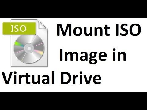 How To Install UltraISO & Mount ISO image In Virtual Drive
