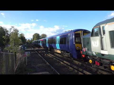 (HD) Rail Operations Group 37601 drags Southeastern 375828 through West Malling - 22/10/17