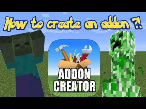 How to make/create an addon on iOS | Minecraft.