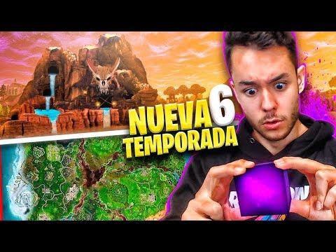 **TEMPORADA 6** FINAL DEL CUBO y NUEVO MAPA de FORTNITE - TheGrefg