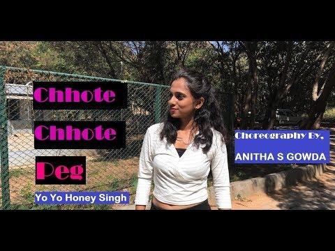 Chhote Chhote Peg -Yo Yo Honey SIngh |Sonu Ke Titu Ki Sweety | Dance Choreographer by Anitha S Gowda