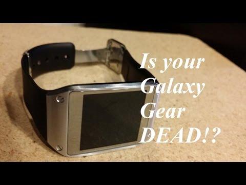 Samsung Galaxy Gear not working