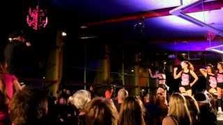 JACKEL & Trikkstar Playbak performing 'Make it Dance' at the Living Dolls show