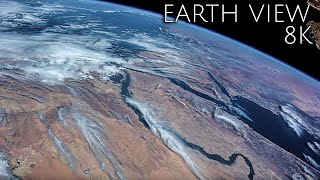 Earth View 8K : Earth From Space Like You've Never Seen Before Stunning 8K Video