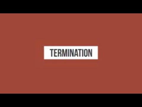 Termination 06 - How To Handle A Unfair Dismissal Claim