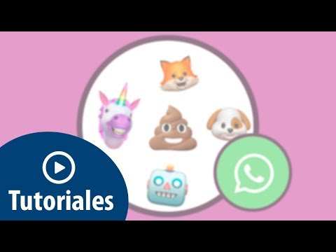 Cómo crear y enviar animoji de iPhone X en WhatsApp