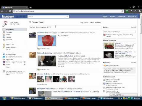 Facebook: How to Tagged or share Photos, Links, or Video