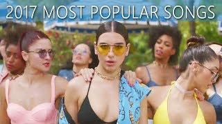 Top 100 Most Popular Songs of 2017 on YouTube