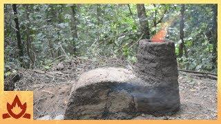 Primitive Technology: Crossdraft kiln