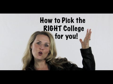Youth Speaker Amanda Hammett   How to Pick the Right College for You