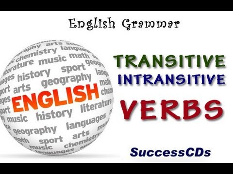 English Grammar Lesson - Transitive and Intransitive Verbs