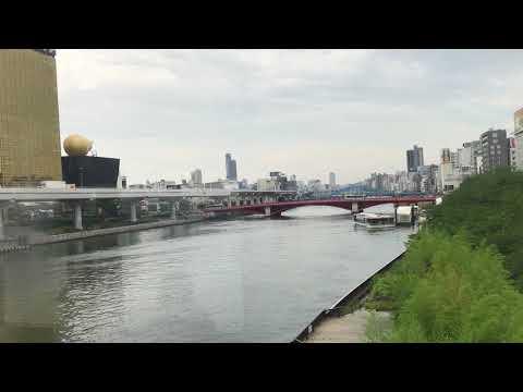 From Tokyo Skytree Station to Asakusa using The Tobu Skytree Line